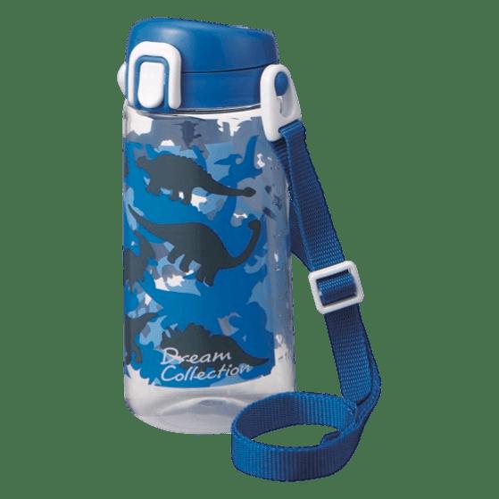 クリア水筒ボトル(直飲み)ブルー