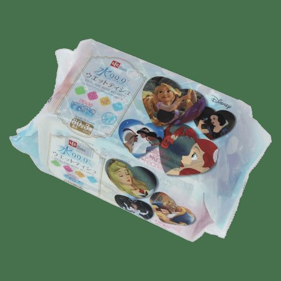 ディズニープリンセス ウエットティシュ80枚×3