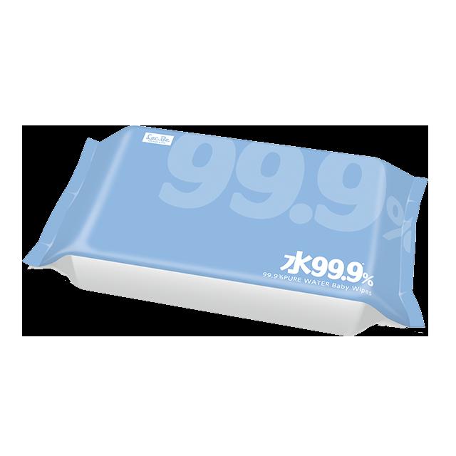 99.9ふんわりおしりふき w80枚×3 商品画像2枚目