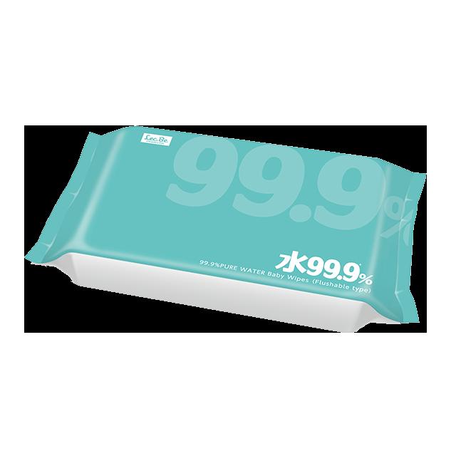 99.9流せるおしりふき w60枚×3 商品画像2枚目