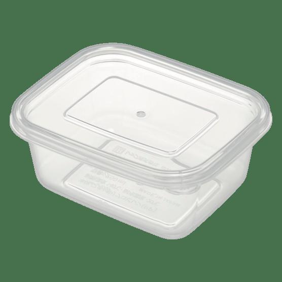 離乳食クリア保存容器(角)L