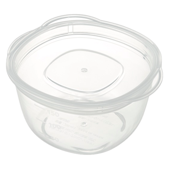 離乳食クリア保存容器(丸)L
