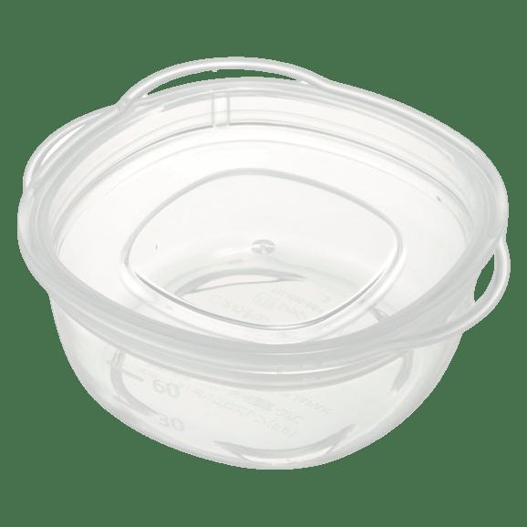 離乳食クリア保存容器(丸)S